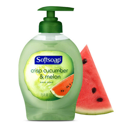 Softsoap® Juicy Melon & Crisp Cucumber Hand Soap
