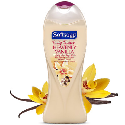 Softsoap® Body Butter Heavenly Vanilla Moisturizing Body Wash