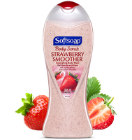 Softsoap® Body Scrub Strawberry Smoother Exfoliating Body Wash