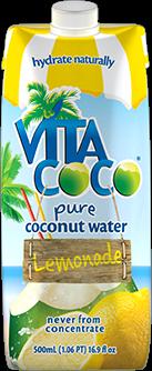 Vita Coco Pure Coconut Water - Lemonade