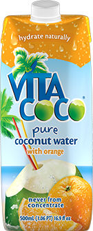 Vita Coco Pure Coconut Water - Orange