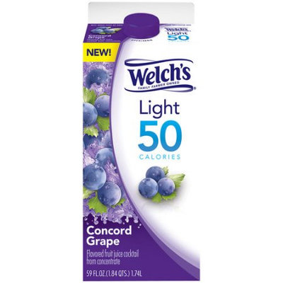 Welch's® Refrigerated Light Calories Concord Grape Juice Cocktail