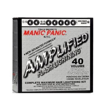 Manic Panic Flash Lightning® Bleach Kit - 40 Volume Cream Developer