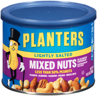 Planters Lightly Salted Mixed Nuts Can