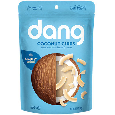 Dang Toasted Coconut Chips Lightly Salted