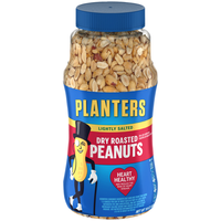 Planters Lightly Salted Dry Roasted Peanuts Jar