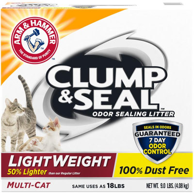ARM & HAMMER™ Clump & Seal™ Lightweight Odor Sealing Clumping Litter Multi-Cat