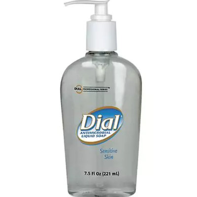 Dial® Hand Soaps Liquid Antimicrobial Soap for Sensitive Skin