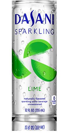 Dasani® Lime Sparkling Water Beverage