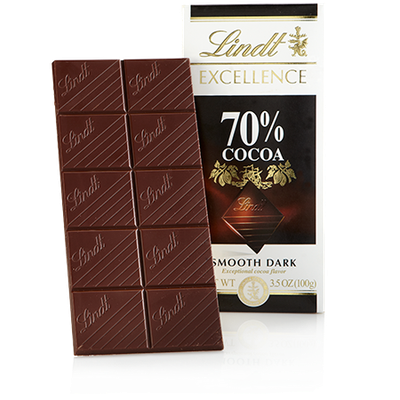 Lindt 70% Cocoa Excellence Bar
