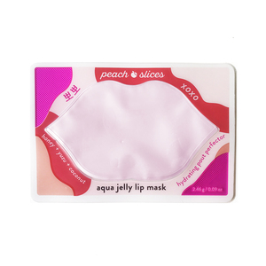 Peach Slices Aqua Jelly Lip Mask