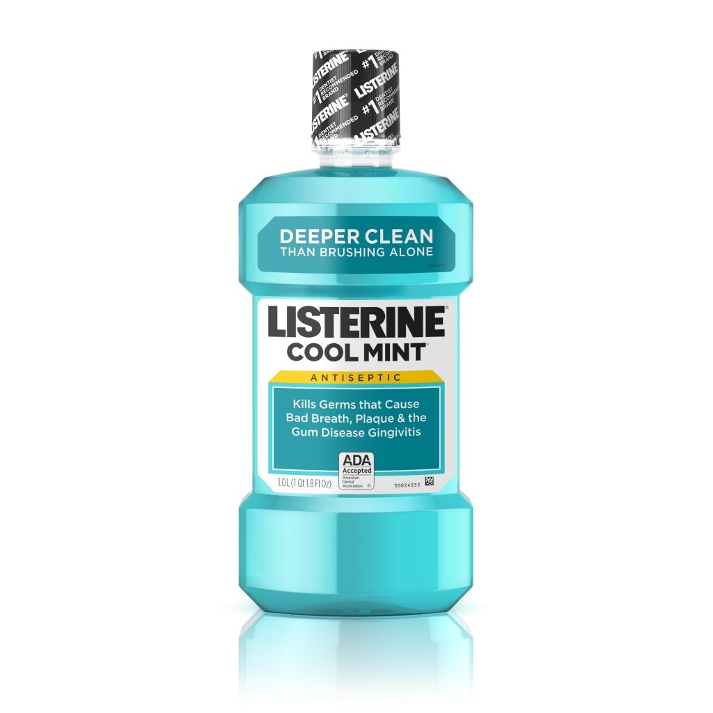 Listerine® COOL MINT LISTERINE® Antiseptic Mouthwash