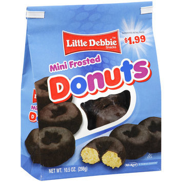 Little Debbie Mini Frosted Donuts