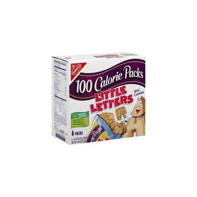 Little Letter Cookies 100 Calorie Packs Mini