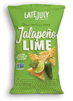 Late July® Snacks Clasico Tortilla Chips Jalapeno Lime
