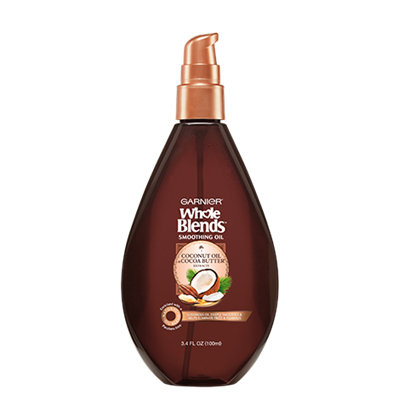Garnier Whole Blends™ Smoothing Oil With Coconut Oil & Cocoa Butter Extracts