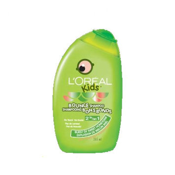 L'Oréal Paris Kids Gentle Volumizing 2-in-1 Bounce Shampoo for Fine, Thin Hair, Burst of Sweet Honeydew
