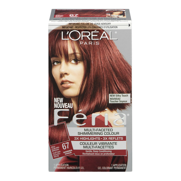 Auburn Hair Color Chart Loreal Traffic Club