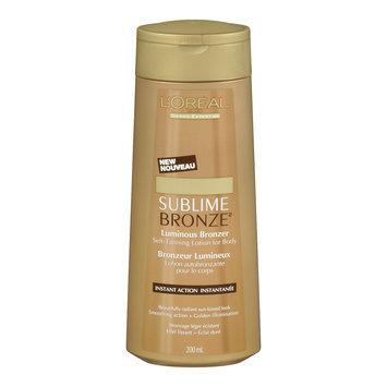 L'Oreal Paris Sublime Bronze Luminous Bronzer Self-Tanning Lotion
