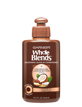 Garnier Whole Blends™ Smoothing Leave-in Conditioner with Coconut Oil & Cocoa Butter Extracts