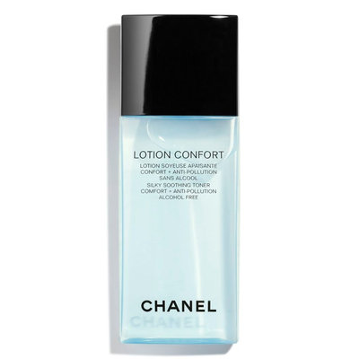 CHANEL Lotion Confort Silky Soothing Toner Comfort + Anti-Pollution Alcohol-Free