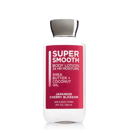 Bath & Body Works Signature Collection Japanese Cherry Blossom Super Smooth Body Lotion
