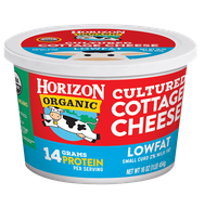 Horizon Cultured Cottage Cheese – Lowfat