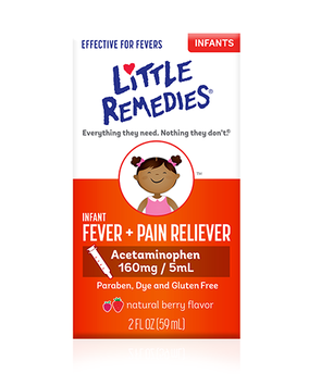 LITTLE REMEDIES® INFANT FEVER & PAIN RELIEVER