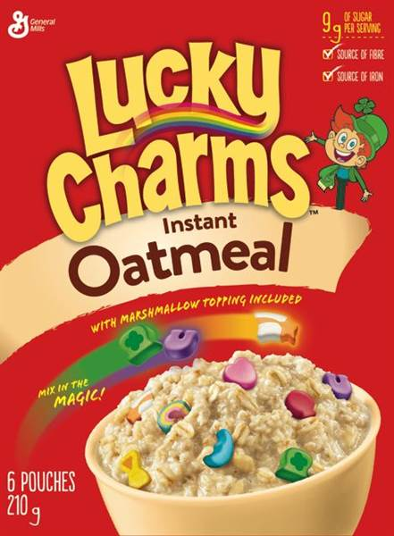 Lucky Charms™ Instant Oatmeal