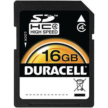 Duracell DU-SD-16GB-C16GB Clamshell Secure Digital Card