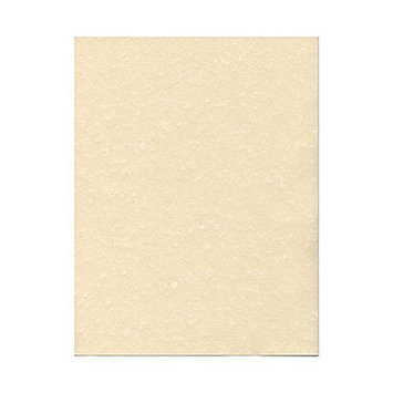 Jam Paper 8 1/2 x 11 Natural Parchment 65lb Recycled Cover Cardstock- 50 sheets per pack