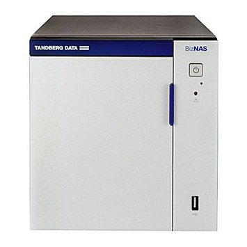 TANDBERG Tandberg Data BizNAS D400 Network Storage Server - 1 x Intel Atom - 4 x