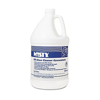 Amrep Heavy Duty Glass Cleaner Concentrate, Floral, 1 gal. Bottle