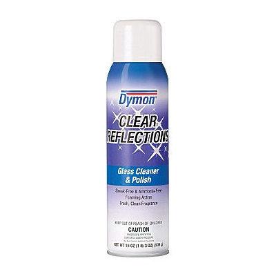 ITW Dymon Clear Reflections Aerosol Glass Cleaner, 20 Oz.