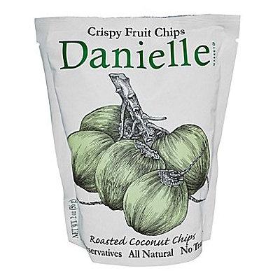 Danielle Crispy Fruit Chips, Roasted Coconut, 6 pk
