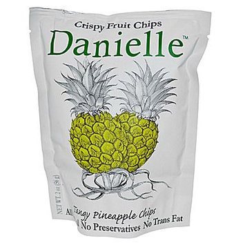 Danielle Crispy Fruit Chips Tangy Pineapple - 2 oz
