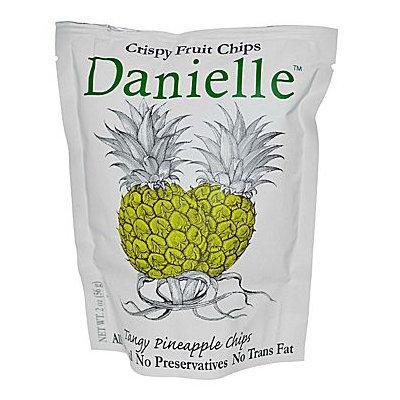 Danielle Crispy Fruit Chips Tangy Pineapple - 2 oz