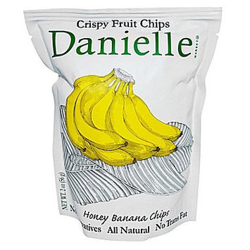 Danielle Crispy Fruit Chips Honey Banana - 2 oz