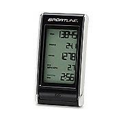 Sportline WV1451 Snapshot Digital Pedometer Black