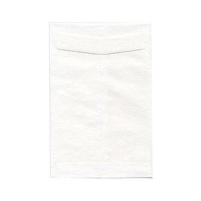 Jam Paper & Envelope 6 1/2 x 9 1/2 Open End White Envelope - 25 envelopes per pack