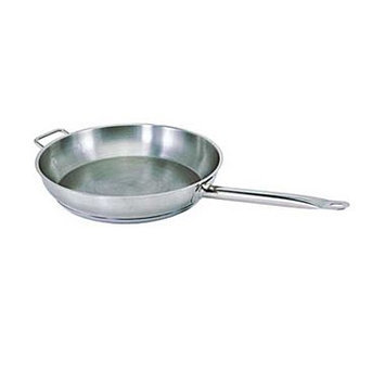 Update International SFP-14 14 in. Stainless steel Fry Pan with Helper Handle