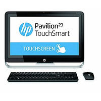 Hewlett Packard HP Pavilion 23-h070 Touchsmart All-in-One (Energy Star) Intel Core i3 4GB DDR3 1TB HDD Capacity 23