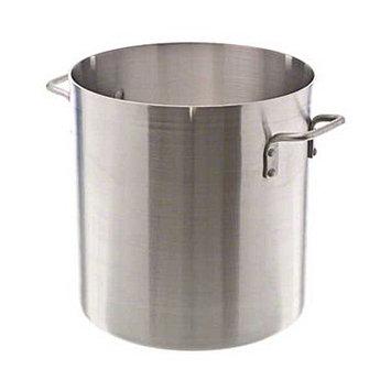Update International APT-24 - 24 qt NSF Aluminum Stock Pot, No Cover