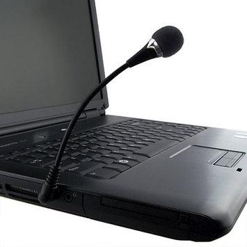 Insten POTHVOIPMIC1 VOIP/SKYPE Flexible Microphone, Black