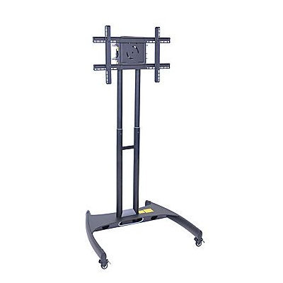 H Wilson Mobile Adjustable Cart Stand For 32- 60 Plasma LED LCD Flat Panel TV