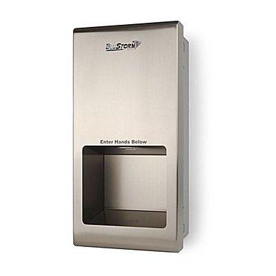 Palmer Fixture Blustorm2 Recessed High Speed Hand Dryer