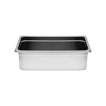 Excellante 24 Gauge Anti Jam Steam Pans: Two-Third Size 6-Inch Deep 24