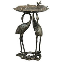 Innova Hearth & Home Innova Hearth and Home Heron / Lily Birdbath