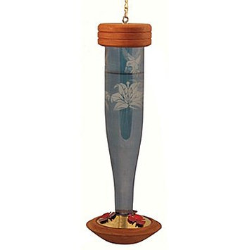 Schrodt Paradise Sapphire HumBird Lantern Feeder