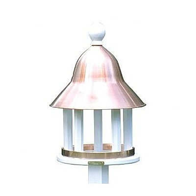 Lazy Hill Bell Bird Feeder with Copper Roof
